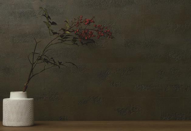 エイジドメタルの意匠と素材感を表現・高級意匠性塗材に新シリーズ追加/アイカ工業