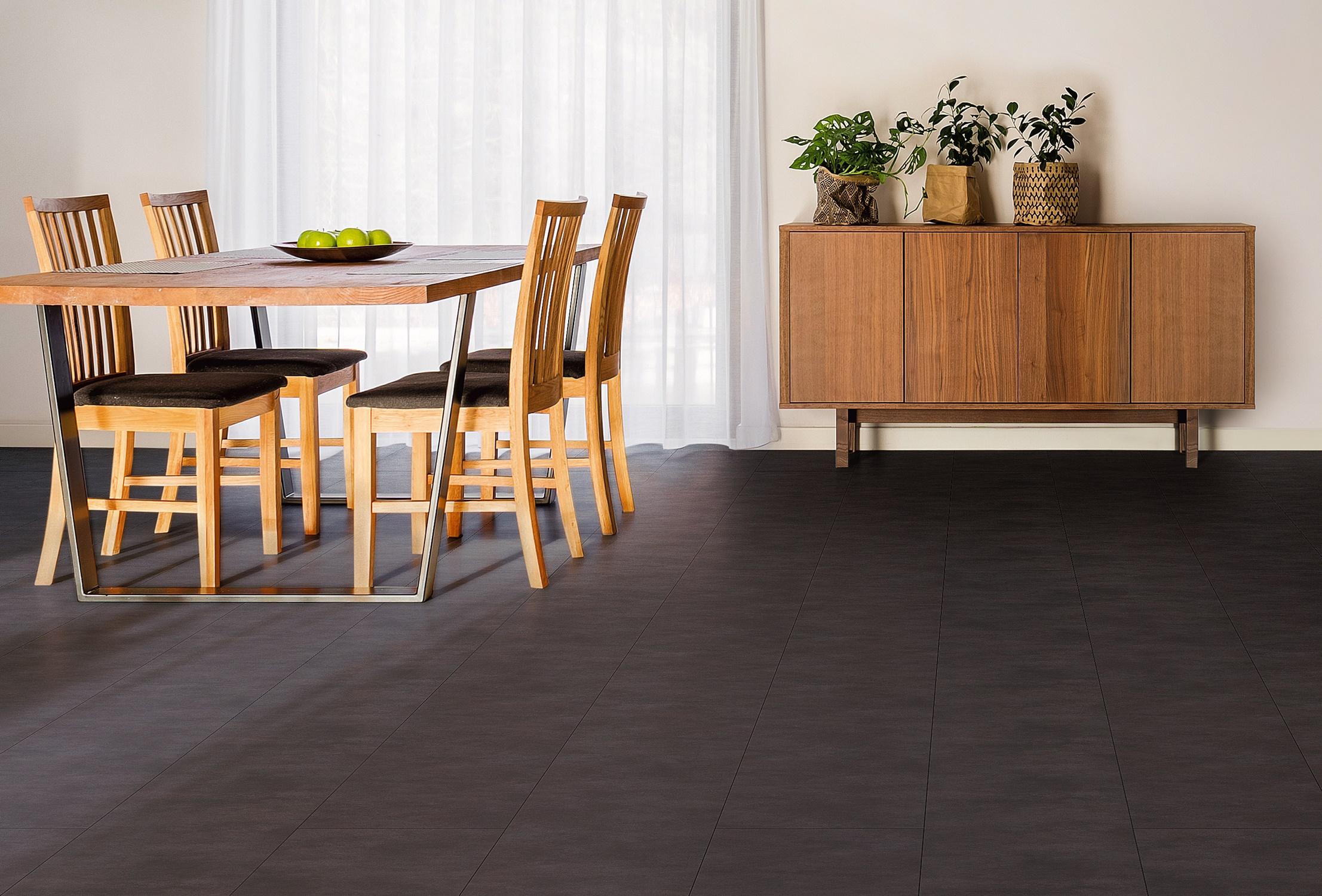 床材「S フロア」に新色<ライトコンクリート調・ダークセメント調>発売/三協アルミ